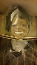 Buckwheat from the Little Rascals Porcelain Doll 1993 Hamilton Collection