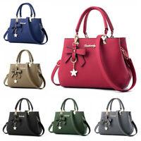 Womens Handbags Leather Purse Shoulder Crossbody Tote Bag Ladies Fashion Satchel