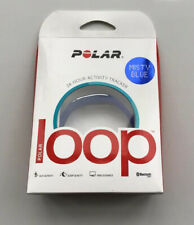 Polar Loop 24 Hour Activity Tracker Bluetooth Smart Band MISTY BLUE