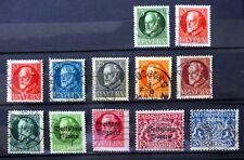 Alemania Baviera clásicos 12 Sellos principalmente fino/usado NC645
