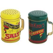 "(12)-Norpro 10 Oz Nostalgic 4"" High Salt & Pepper Shaker Set 713"