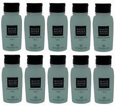 Beekman 1802 White Water Shower Gel Lot of 10 Each 0.75oz Bottles Total of 7.5oz
