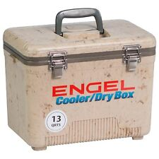 Engel 13 QT Cooler and Dry Box Grassland Camo - UC13C1