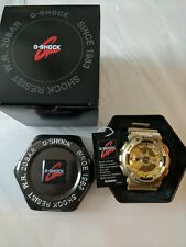 Casio G Shock 5146 Ga-110GD Gold Resin Gold Face Antimagnetic Watch