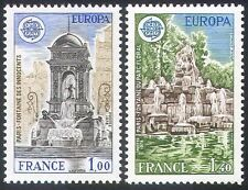 France Architecture Stamps