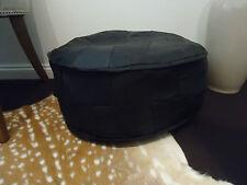 Stunning Hand Made Leather Ottoman Pouffe Pouf Footstool