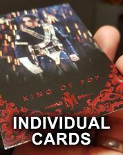 Michael Jackson Panini *INDIVIDUAL* Trading Cards