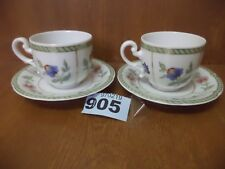 Heinrich / Villeroy & Boch INDIAN SUMMER - Pair of Coffee Cups & Saucers