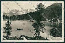 Trento Madonna di Campiglio Lago di Nambino Foto cartolina ZC2673