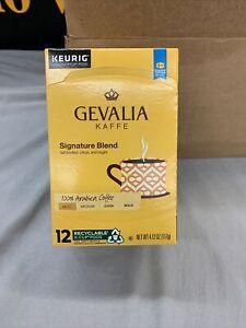 Gevalia Kaffe Signature Blend Mild Arabica Coffee 12 K-Cup Pods 4.12 Oz Keurig