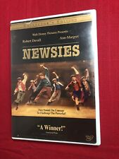 Disney NEWSIES 1992 Collector's Edition DVD. Christian Bale SHIPS FAST!