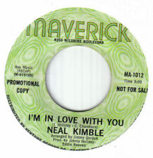 """Northern Crossover Soul 7""""-Neal Kimble-I'm In Love With You-US Maverick promo"""