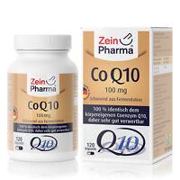 ZeinPharma Coenzym Q10 120 Kapseln Tabletten hochdosiert 100mg Made in Germany