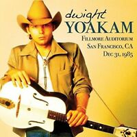 DWIGHT YOAKAM - FILLMORE AUDITORIUM 1985   CD NEW!