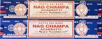 Satya Nag Champa Stick Incense 2 x 15 Grams, Total 30 Grams Only $2.99 15 Gm Box