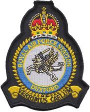 Raf Duxford Königliche Luftwaffe Mod Wappen Gestickte Abzeichen