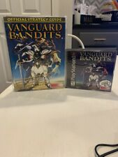 Vanguard Bandits Sony PlayStation 1 PS1 Case Manual (Demo Included) + Guidebook