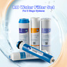5 Stage Reverse Osmosis RO Water Filter Replacement Set 5pc 50/75/100/150GPD NSF