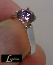 1.20 ct  Sparkling Pink Diamond Ring