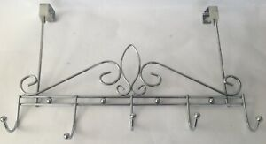 Nice Contemporary Stainless Steel  Key/Towel Holder Rack Ornate Hanging Wall C1