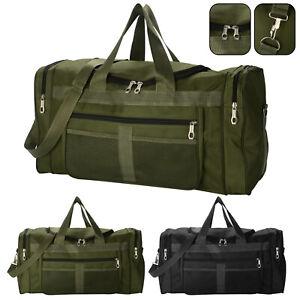 Mens Large Travel Bag Sport Gym Yoga Duffle Handbag Shoulder Bag Weekend Tote