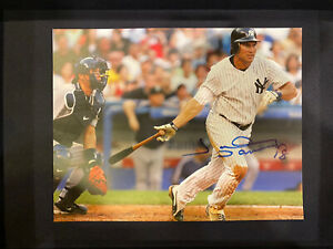 Johnny Damon Signed 8.5x11 Print Yankees Photo Proof Autograph Auto GTD To Pass