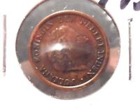 CIRCULATED 1957 1 CENT NETHERLANDS COIN! (71215)A