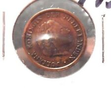 CIRCULATED 1957 1 CENT NETHERLANDS COIN! (71215)