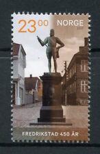 Norway 2017 MNH Fredrikstad 450th Anniv 1v Set Architecture Tourism Stamps