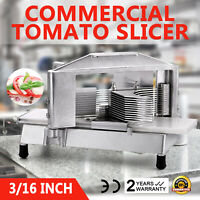 """Commercial Tomato Slicer Vegetable Chopper Dicer Cutting Industrial 3/16"""""""