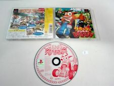 Crash Bandicoot racing PLAYSTATION ,PS2, PS3 PSX  JAPONES .