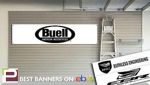 Buell Motorcycles Banner for Garage, Workshop, Man Cave, Showroom etc