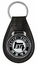TOYOTA LAND CRUISER TEQ LEATHER KEY CHAIN RING FOB - fj40 fj55 fj60 fj62 fj80 40