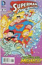 SUPERMAN FAMILY ADVENTURES #8  FUZZY * KRYPTO * SUPERGIRL  DC  2013