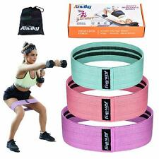 Anviky Booty Bands Hip For Resistance Legs & Butt Fabric Fitness