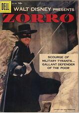 Walt Disney Presents Zorro Four Color Comic Book #882, Dell Comics 1957 FINE