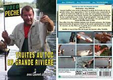 Truites au toc en grandes rivieres avec Laurent Jauffret - Pêche de la truite -