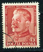 Poland WW2 Red Army Leader Stalin in 1945 stamp