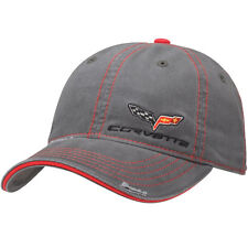 C6 Corvette Washed Distressed Gray Hat