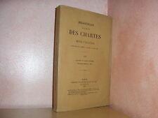 Bibliothèque de l' école des chartes revue d'érudition moyen age  1903 Tome LXIV