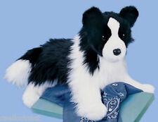 """Douglas Chase BORDER COLLIE 16"""" Plush Dog Stuffed Animal Cuddle Toy NEW"""