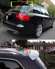 AUDI A4 B6 B7 2001-2007 AVANT SPOILER POSTERIORE - ALETTONE SUL TETTO LOOK SLINE