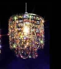 1pcs Multicoloured Chandelier Gypsy Crystal Lamp Ceiling Lighting Pendant Light