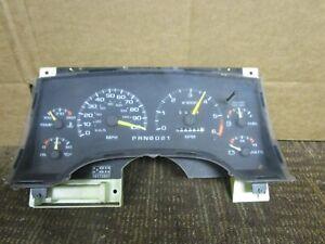 95 96 97 GMC Jimmy Speedometer Instrument Cluster 174K Miles 1995 1996 1997