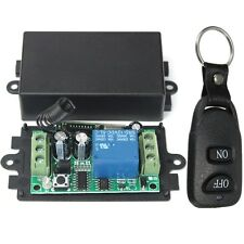DC 12V 10A Relay 1CH Wireless RF Remote Control Switch