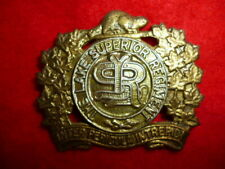 Lake Superior Regiment Cap Badge - Canadian WW2