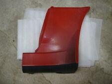 1989 Toyota Supra MK3 Body Corner Wheel Skirt Lt Drivers Red Original Parts