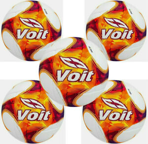 Lot of 5 -Voit Liga MX Official Match Ball Clausura 2021 - White-Orange fifa app