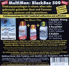 MultiMan Black Box 500 Trinkwasseranlage Aufbereitung Wohnmobil Service