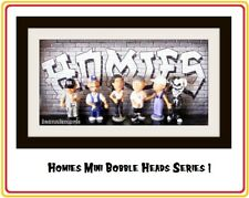 "Homies Bobbleheads Series 1 - set of 6 different 2"" bobblehead Figures"
